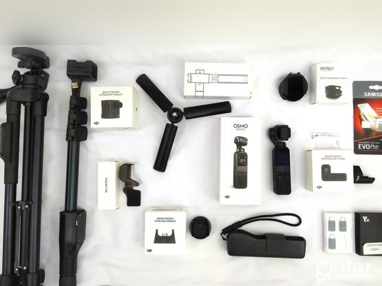 Osmo Pocket Package - All Accessories (In original boxes)