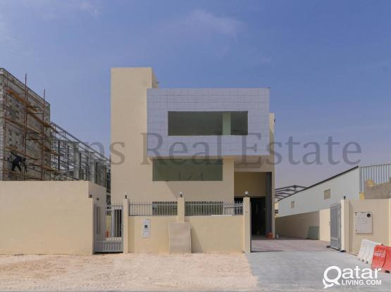 Brand-new Warehouse with 6 Rooms and Offices
