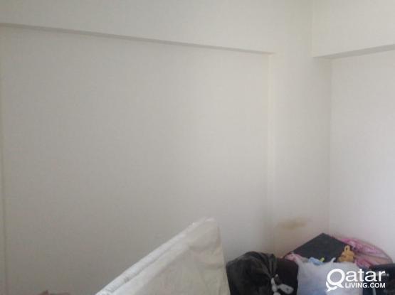 Flat(2bed+2bath+hall+kitchen) semi furnished or non-furnished