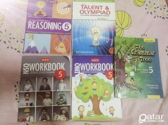 Olynpiad Workbooks for Grade 5 and Reasoning workbooks for Grade 4