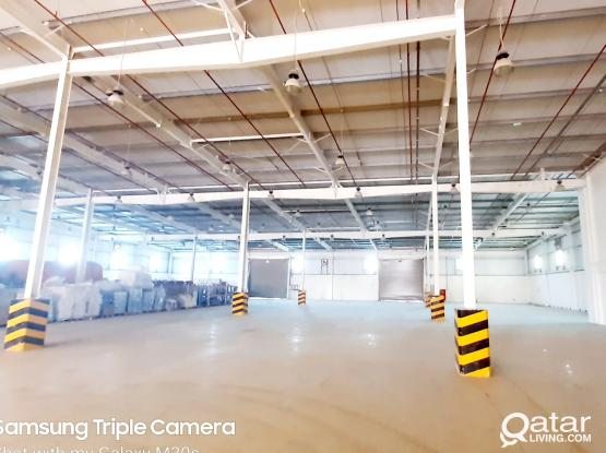 HIGH CLASS WAREHOUSE SPACE FOR RENT IN INDUSTRIAL AREA