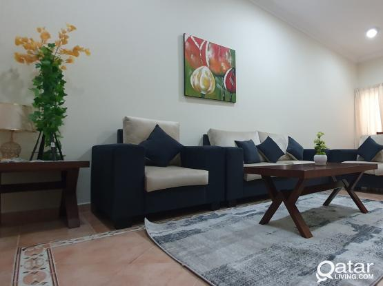 2 BHK Fully Furnished Apartments behind Green Mosque, Bin Omran