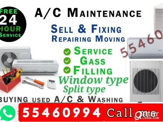A/C repair selling and buy
