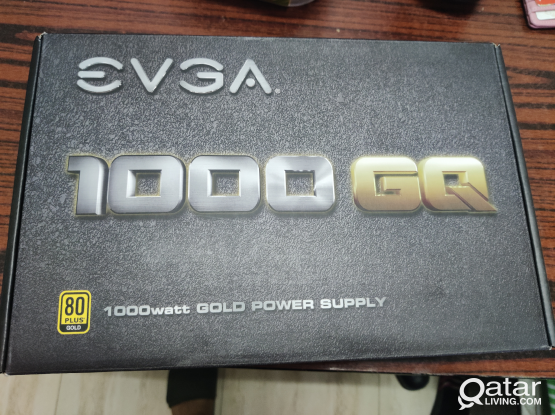 EVGA 1000W GQ Power Supply 80 Gold