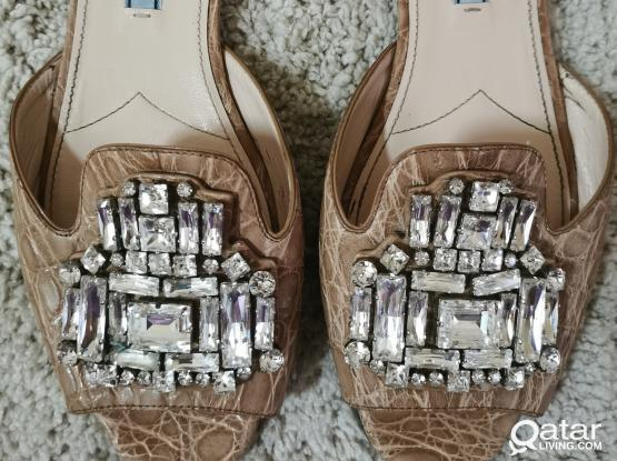 Authentic Prada Sandal