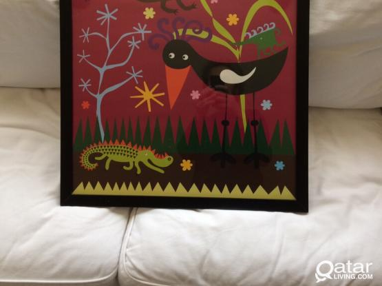 IKEA Wall Picture For Kids Room
