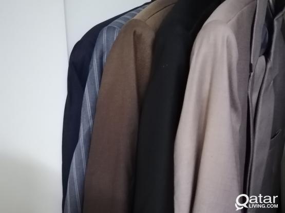 Men Suits - 3 Pent Coats and 2 coats