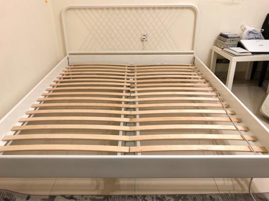 IKEA steel Bed