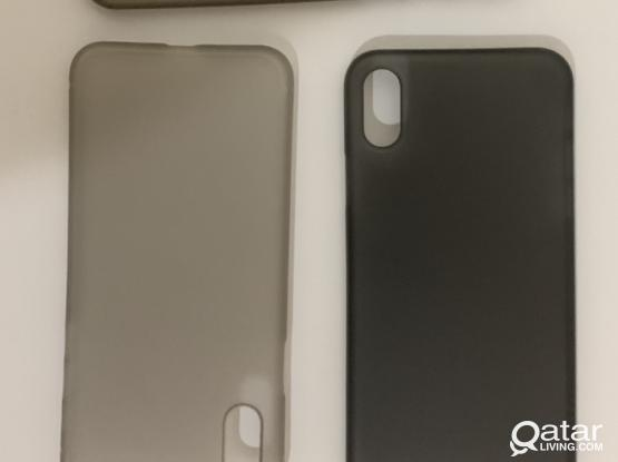 Free Iphone XS back Cover and Camera Protection