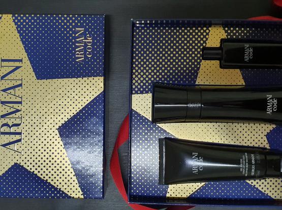 Armani Code perfume gift set