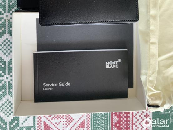 Authentic Brand New Mont Blanc Wallet.