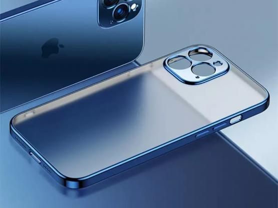 Iphone 12 Cover- Blue Color