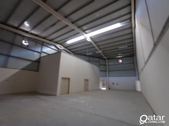 BRAND NEW STORE 1100 SQM WITH LABOUR ACCOMMODATION
