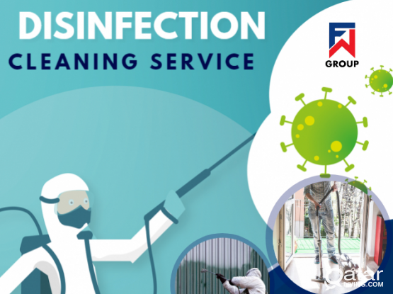 Disinfection and cleaning  service
