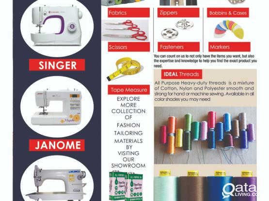 Tailoring Materials  & Equipments