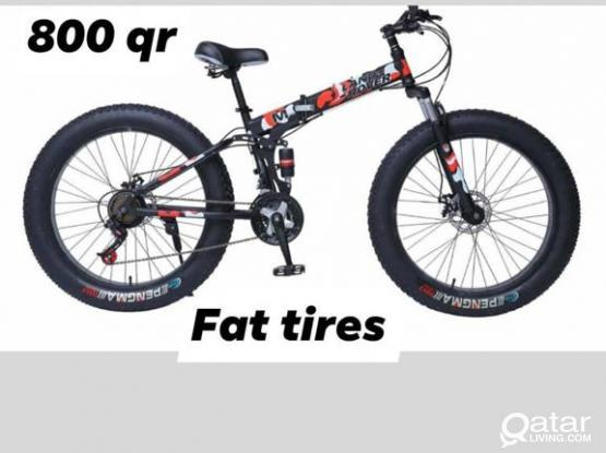 Foldable fat tires bicycle 26.5inch