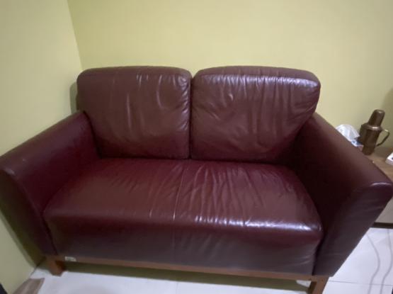 Leather Sofa 1 Pcs
