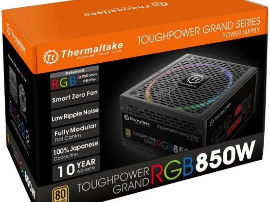 Thermaltake Toughpower Grand RGB 850W 80+ Gold Smart Zero