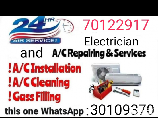 Ac repairing and servicing 24/7. Please call me anytime, Best price. Please call 70122917