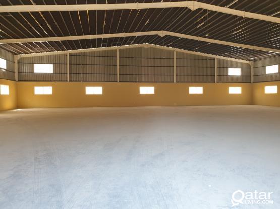 Warehouse berkat alawameer 1050sq.m + 8 Rooms and + 2months free