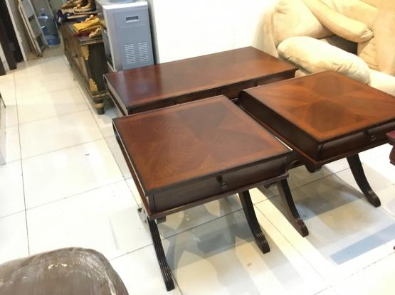 Coffee table set for sale from home center