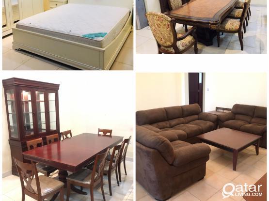 For Sale second hand Good Villa Furniture