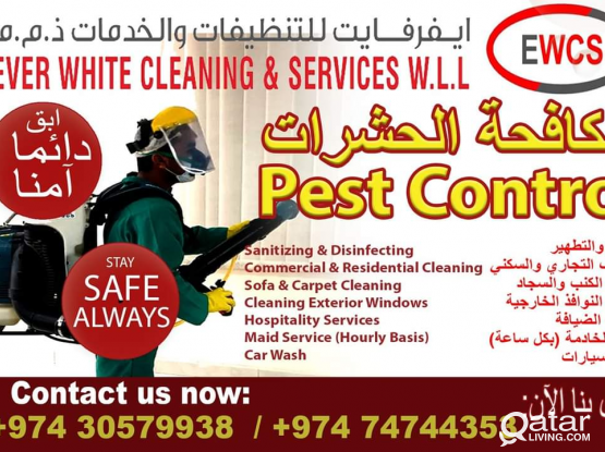 PEST CONTROL AND SANITIZING SERVICES