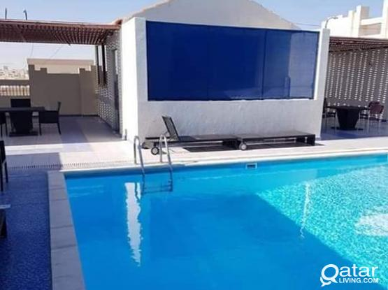 1BHK Al Najma Included Bills+swimming pool