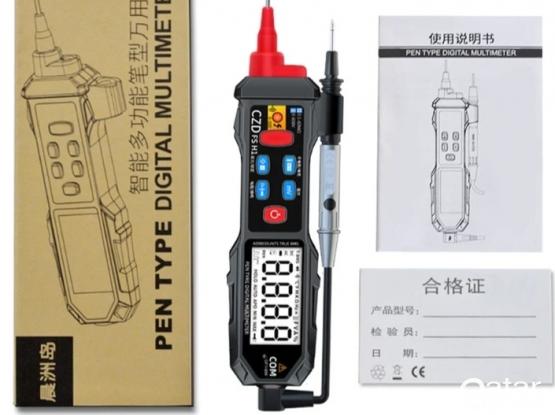 Pen type digital multimeter