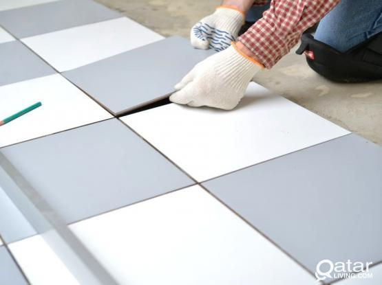 We do all kind of Tile  Works