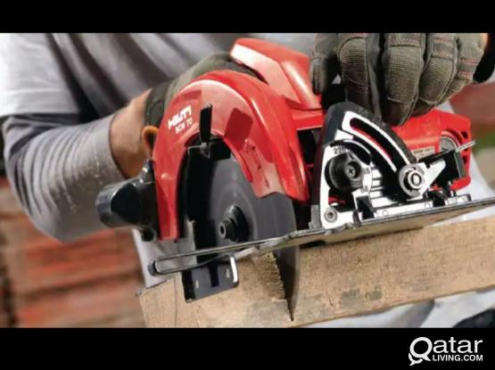 Hilti wood saw machine (almost New only 1 time used)