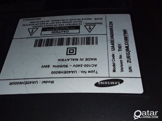 "Samsung led 40""(not smart) ua40ej6000"