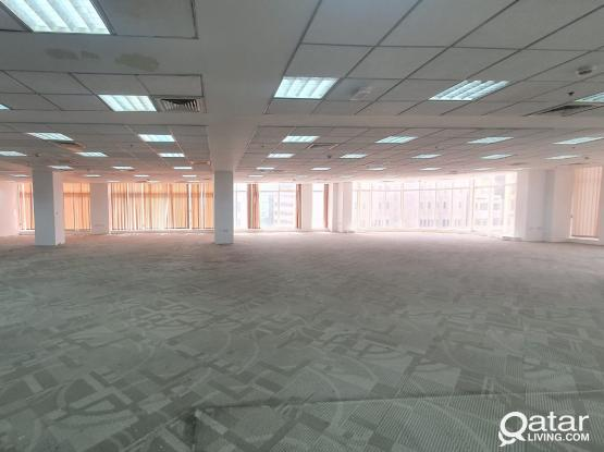 Spacious offices (Fitted) at Bank Street / Corniche / Souq Waqif