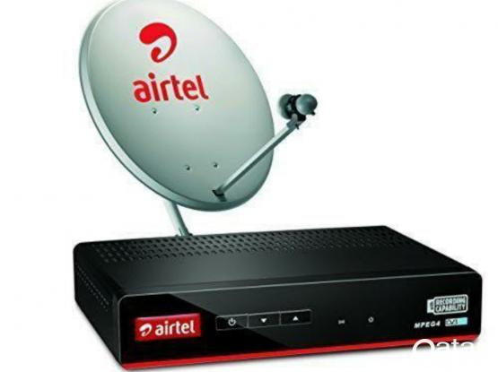 ALL AIRTEL DISH TV INSTALLATION FIXING CALL ME WHAT'S APP 55288726