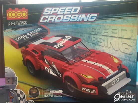 SPEED CROSSING RACE CAR