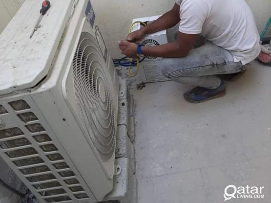 We buy and sell used AC's and also do AC service. Please contact us on 55003840