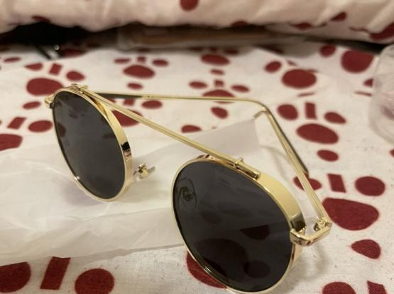 Sunglass ( Black and Gold)