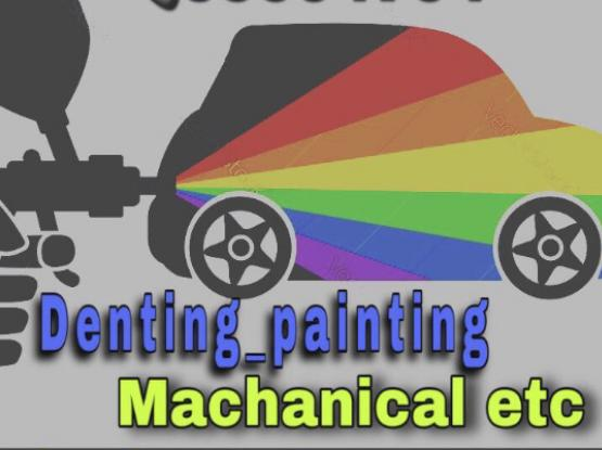 Car Painting Polishing Denting. Low Price
