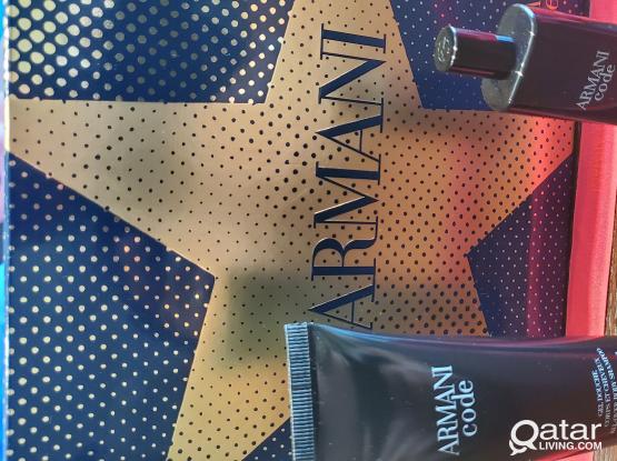 Armani Code Travel perfume box edt 15ml + gel 75ml