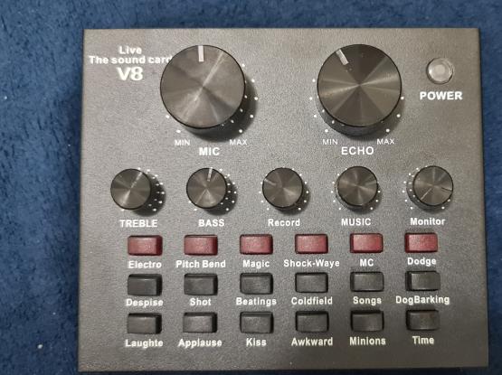 V8 audio mixer
