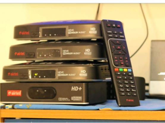Airtel brand new HD receiver