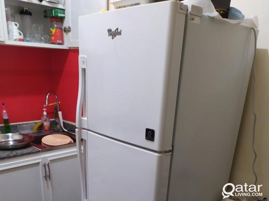 450 QR Whirlpool 290 Ltrs Double Door Refrigerator