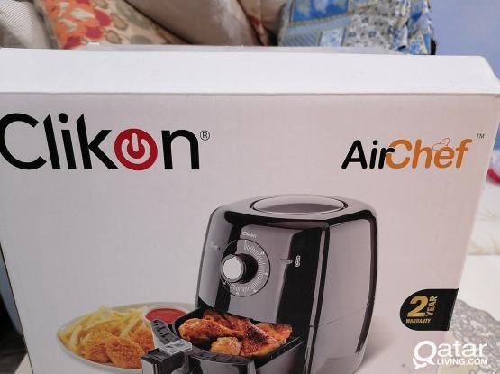 Clickon Air Fryer Still in Warranty