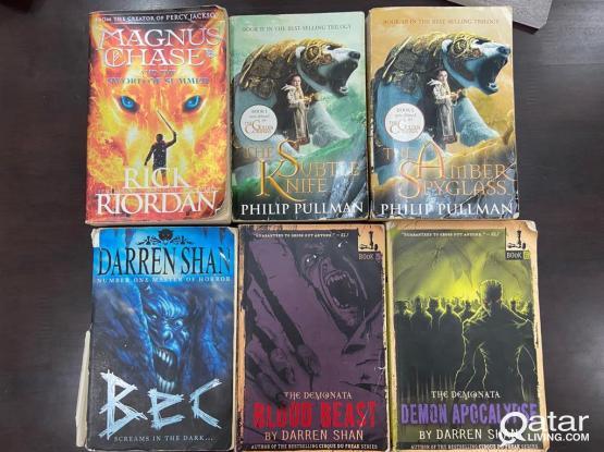 Darren Shan/The Golden Compass/Rick Riordan books