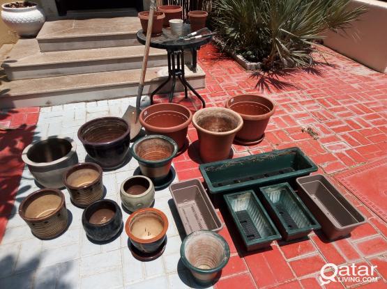 Plant Garden pots