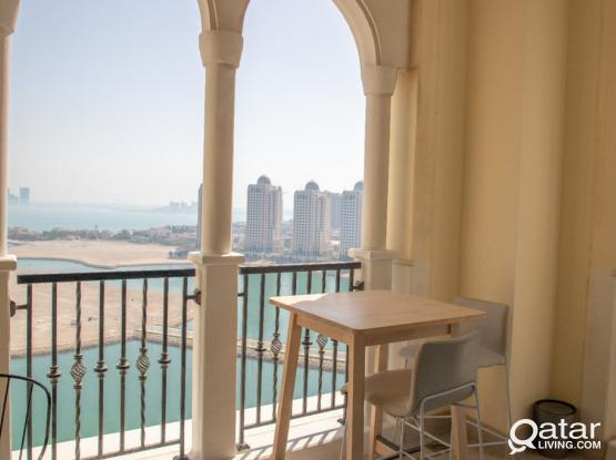 Flat For Rent 2 Months In Viva Bahriya 15 (Pearl)