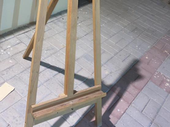 Wooden Painting Stand
