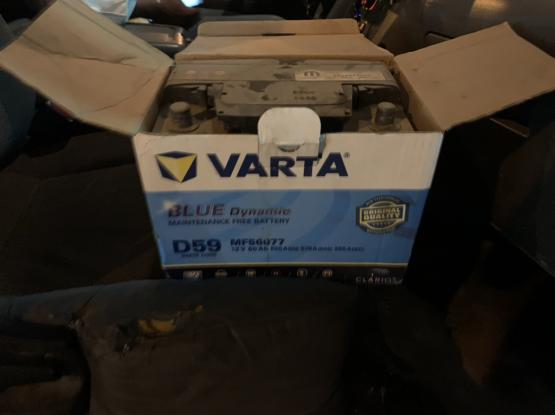 Varta Car Battery