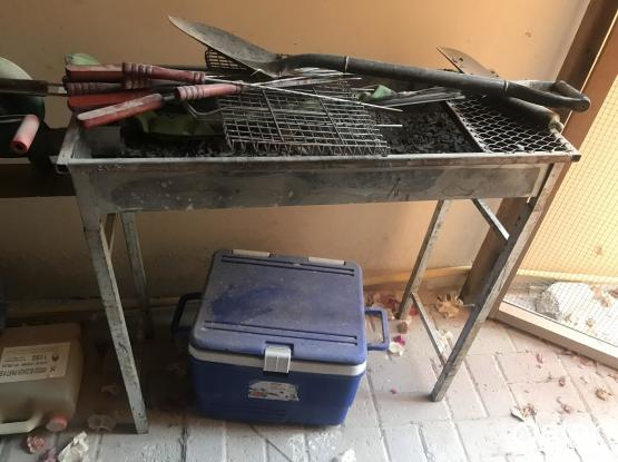 BBQ set,  gas stove and more