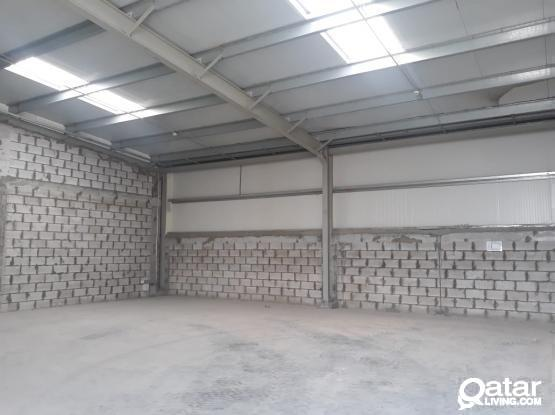 140 Sqm Brand new Aluminium or Carpentry or Signage Workshop Available in Umm Al Saneem